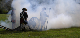 Cannon 20firing