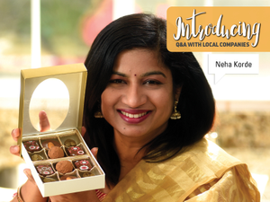 Introducing Neha Korde at Vanys Chocolates