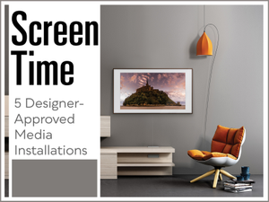 Screen Time 5 Designer-Approved Media Installations
