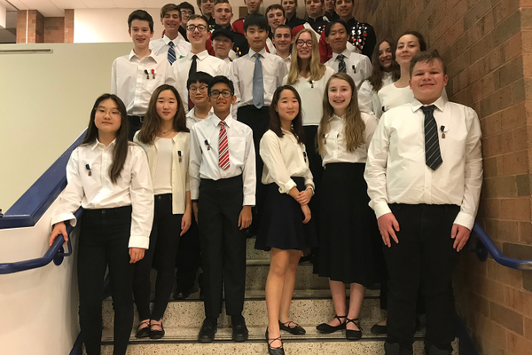 FASD Students Chosen for Allegheny Valley Honors Band