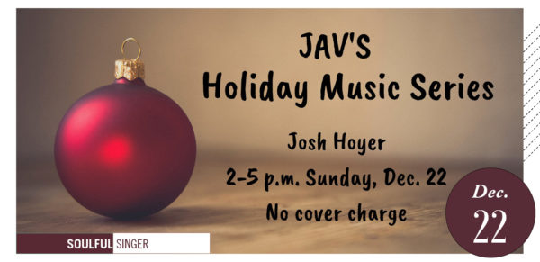Holiday Music Series Josh Hoyer graphic