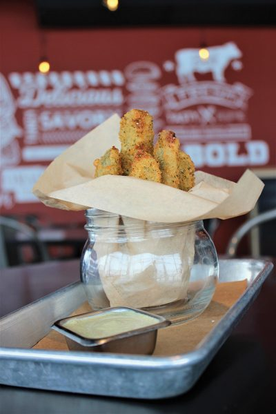 Charred's Fried Pickles