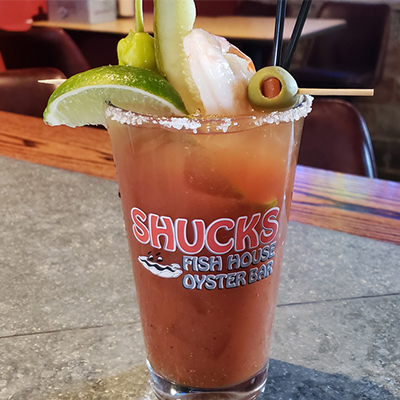 Shucks Fish House Bloody Mary