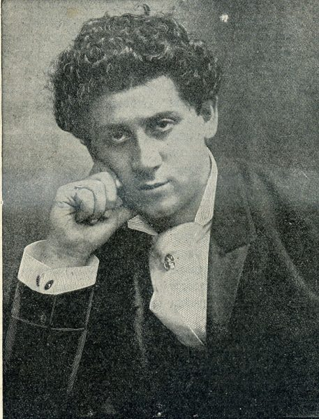 Boris Thomashefsky, one of the biggest stars in Yiddish theater.
