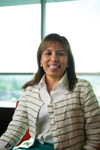 Cristina Fernandez, M.D., pediatrician and medical director of HEROES