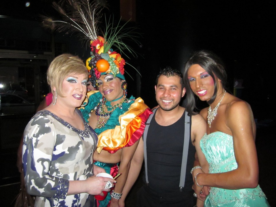 Drag performers from the 2012 Spirits of the Opera event.
