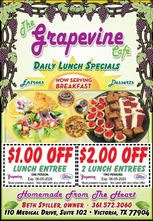The 20grapevine 20cafe 20  20catering 20  20cc 20  20march april 202020