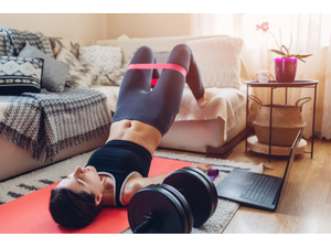 Your Guide to At-Home Workouts in the Upper Valley