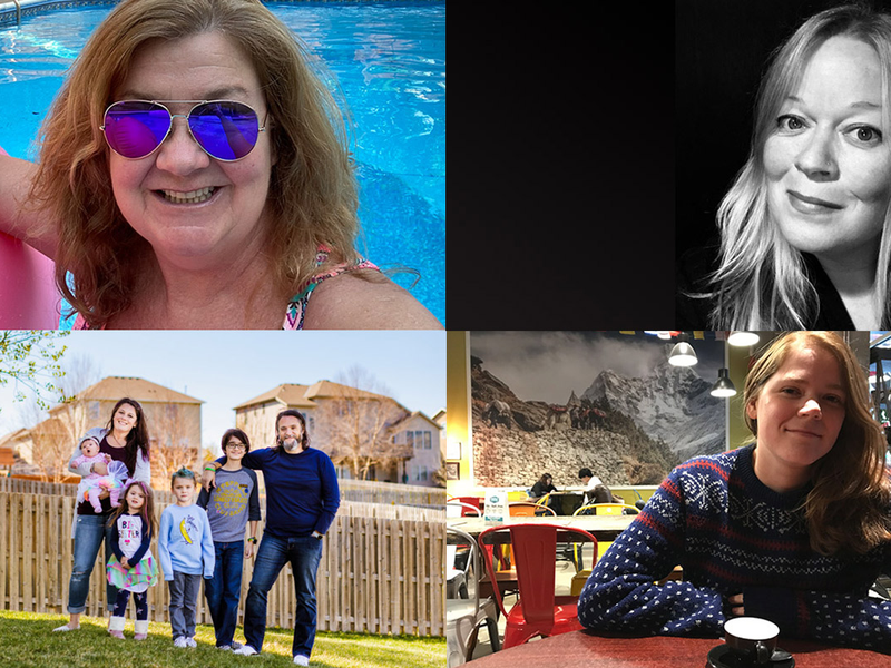 collage of Omaha Magazine team members