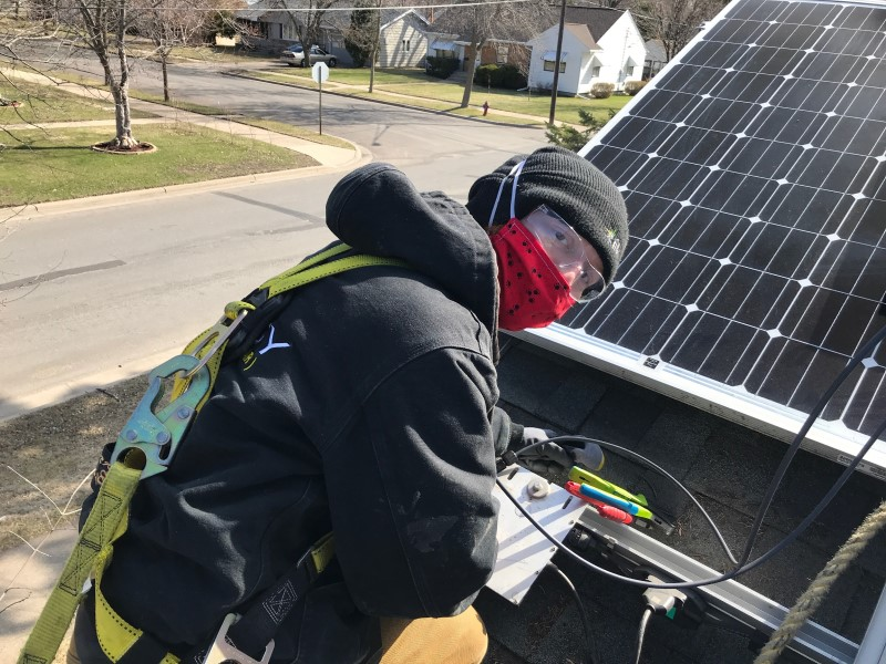 All Energy Solar Is Back On Top Of Roofs Installing Panels To Meet Solar Demand Natural Awakenings Twin Cities