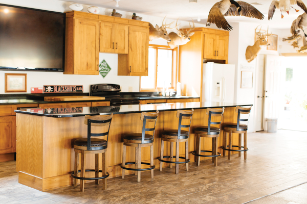 bar/kitchen, Ed Foral's man cave