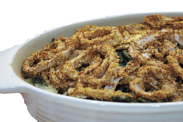 Vegan Green Bean Casserole Recipe