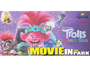Movie in the Park Featuring Trolls World Tour - start: Nov 14, 2020 05:00PM