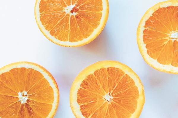 Orange Citrus with Vitamin C