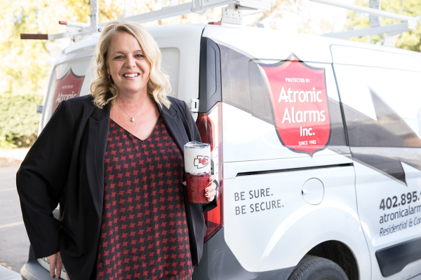 Traci Goodrich of Atronic Alarms