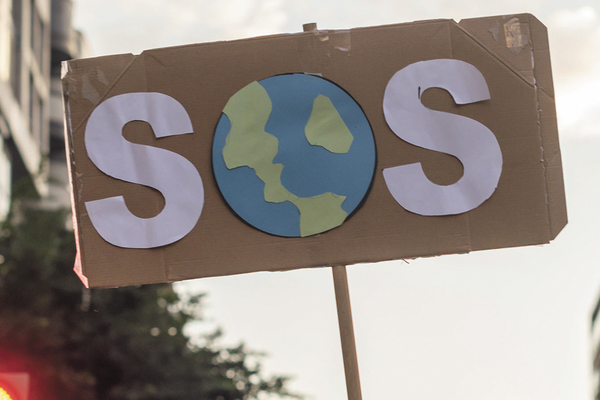 Climate anxiety SOS Earth sign