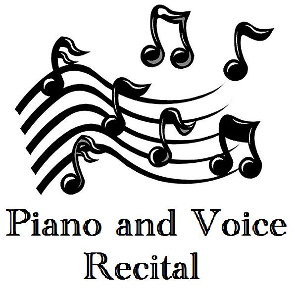 Piano and voice recital