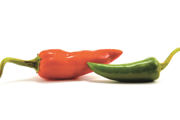 Chili peppers for longevity