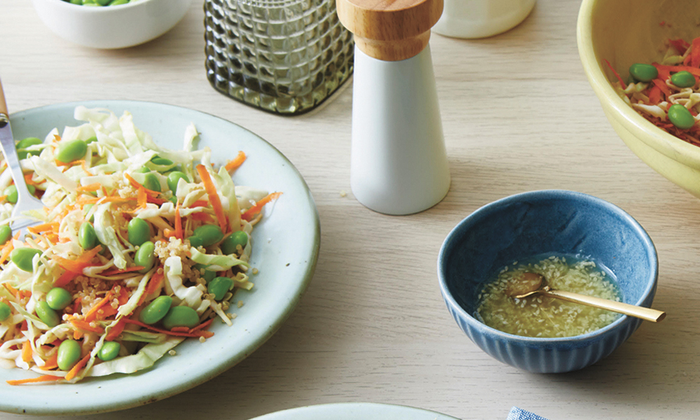 Ginger-sesame dressing recipe