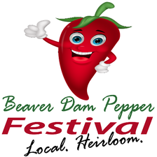 Medium pepper festival logo