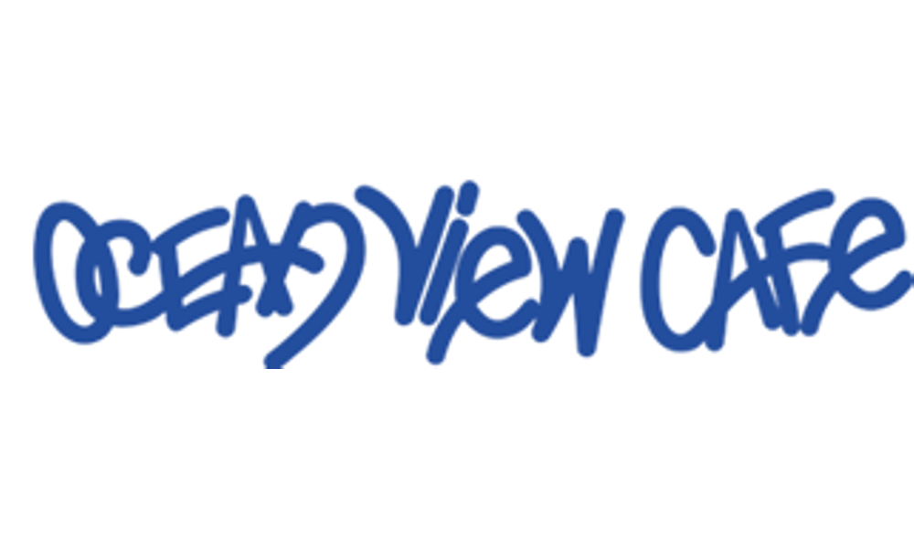 Ocean view cafe logo