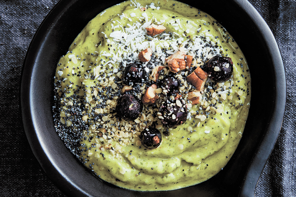Green smoothie bowl recipe