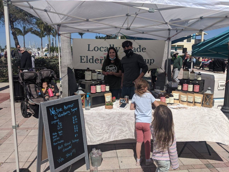 Elderberry Syrup Great for the Whole Family at the Ft Pierce Farmers Market
