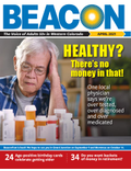 April 2021 BEACON Senior News cover