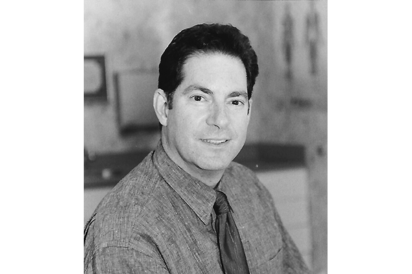 Balck and White headshot of David J. Zeiger, DO