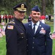 Deputy Police Chief John Voto and his brother, Senior Master Sgt. Stephen Voto.