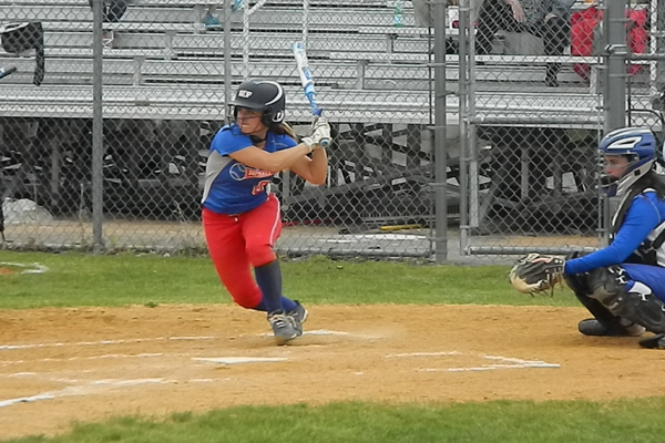 Brooke Hardy Pounded Out Three Extra-base Hits To Lead Tewksbury Over Danvers, 6-1.