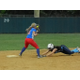 Brooke Hardy Tags Out A Dracut Runner At Second Base