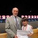 4th Grade Winner: Alex Cranston with Dr. O'Connor