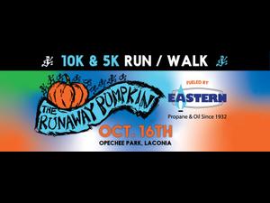 Runaway Pumpkin 10k  5k RunWalk - start Oct 16 2021 0900AM