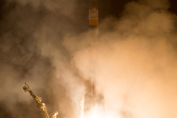 The Soyuz TMA-12M rocket launches. (#22)