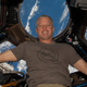 A jubilant Steve Swanson arrived at the space station on March 27, 2014. (#2)