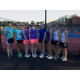 Women's doubles teams at the 2014 Tewksbury Open.