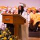 Megan Fay Francisco Villarin gives the Valedictory Address.