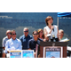 Mayor Amy Howorth kick-offs Manhattan Beach's public awareness campaign to inform the public of the city's new Smoke-Free Public Places law.