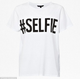 #Selfie Cotton T-Shirt - French Connection