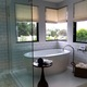 Tub with a view in master bathroom