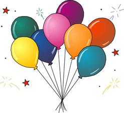 Medium balloons