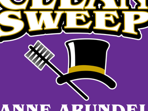 Main image clean sweep logo purple