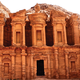 The Monastery of Petra, Jordan