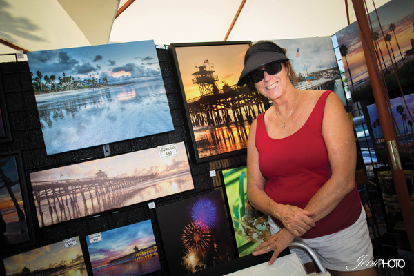 Christy MacBride-Hart with her beautiful photography collection.