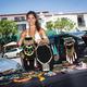 Tatiana Marmouget displays a collection of Millianna Jewelery.