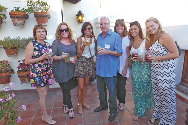 Downtown Business Association Mixer July 23 at Tequila's Chop House.  Claudia Acuff - Owner of Chicas on Del Mar, M.T. Waters-Zaninovich & Karen Meech - Owners of Tootsies, Steven Acuff, Veronique Price - Owner of Antoine's Café, Tiffany Strickert & Meaghan Brisley-Full Motion Physical Therapy.