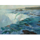 """Outpouring, Horseshoe Falls"" (John 6:63) (Canadian side of Niagara, opposite Buffalo, NY)"