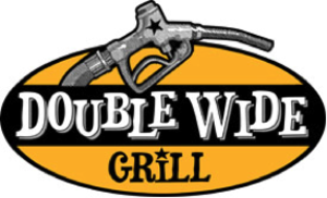 Medium double wide grill logo