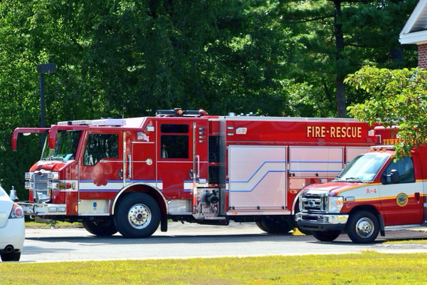 One of the two fire engines purchased by the Tewksbury Fire Department to add to their fleet. Photo courtesy of Tom Cooke.